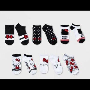 Girls' Hello Kitty 6pk Socks
